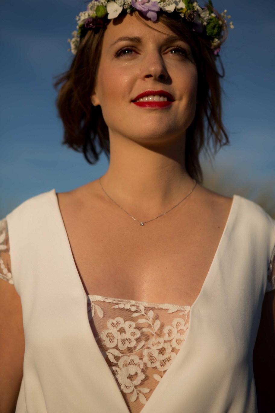 Créatrice de robes de mariée La Rochelle collection Camille 3
