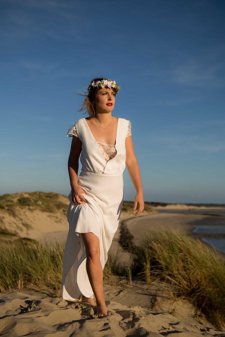 Créatrice de robes de mariée La Rochelle collection Camille 4