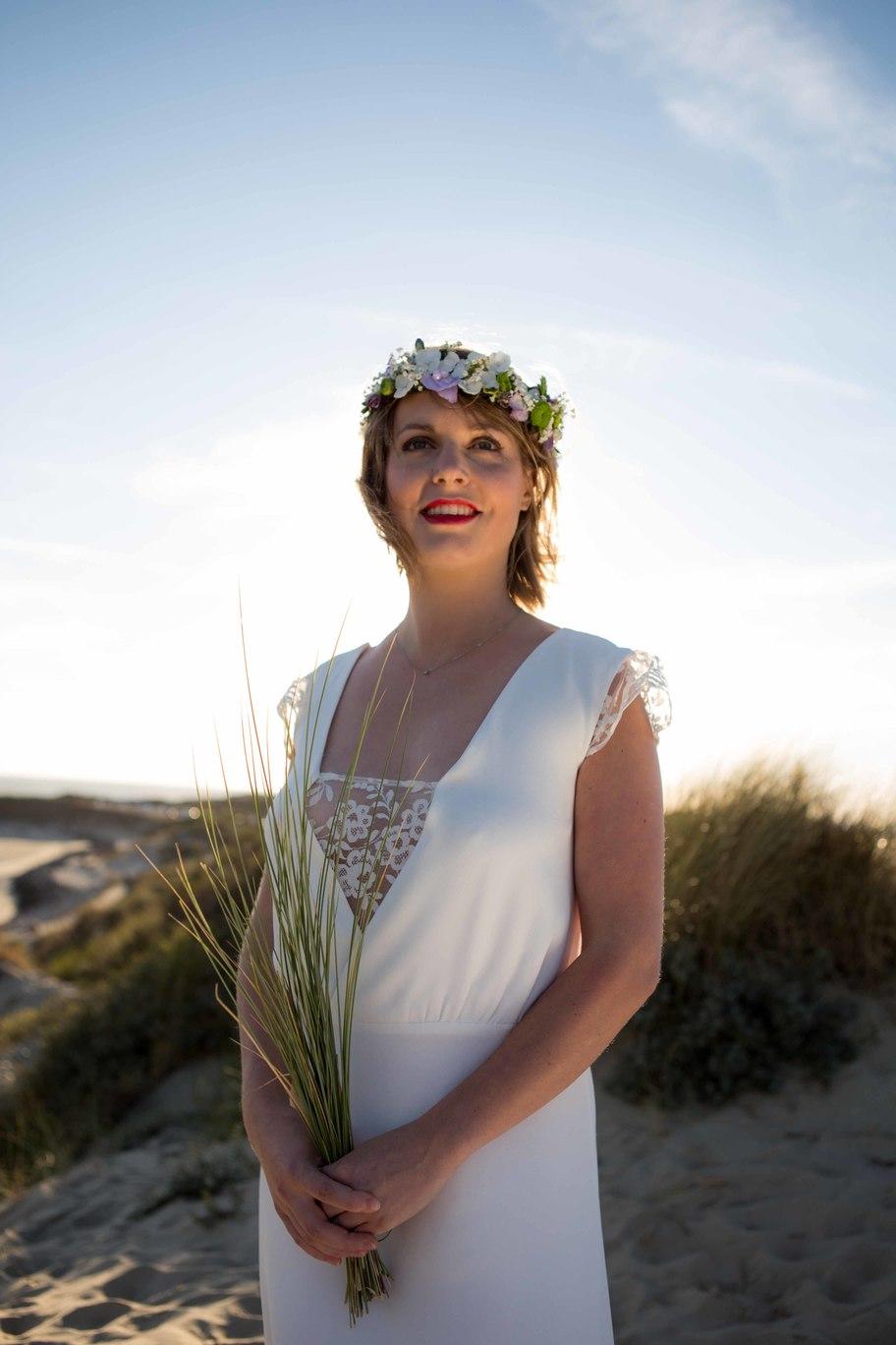 Créatrice de robes de mariée La Rochelle collection Camille 1