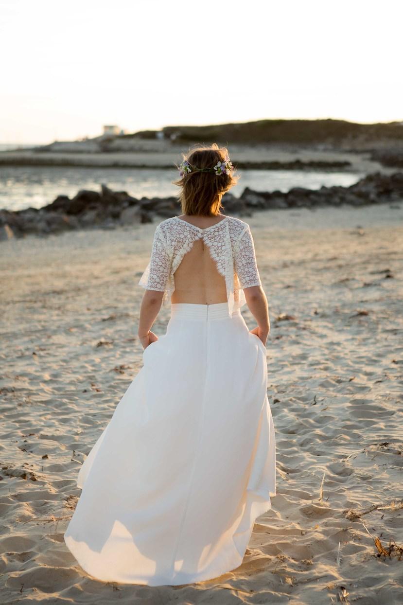 Créatrice de robes de mariée La Rochelle Amandine 4