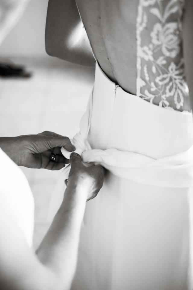 Créatrice de robes de mariée La Rochelle Julie 1