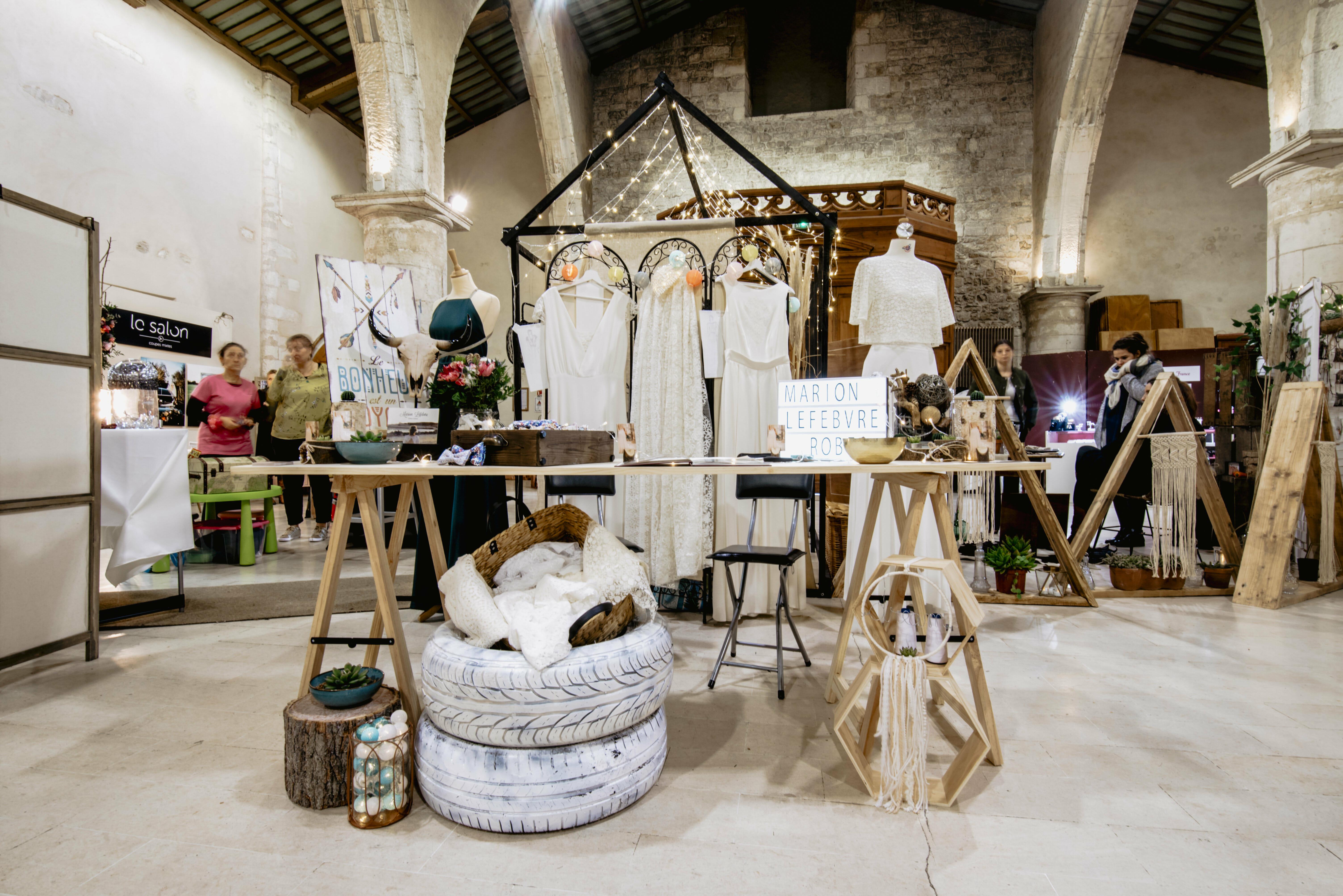 Créatrice de robes de mariée La Rochelle Stand 3