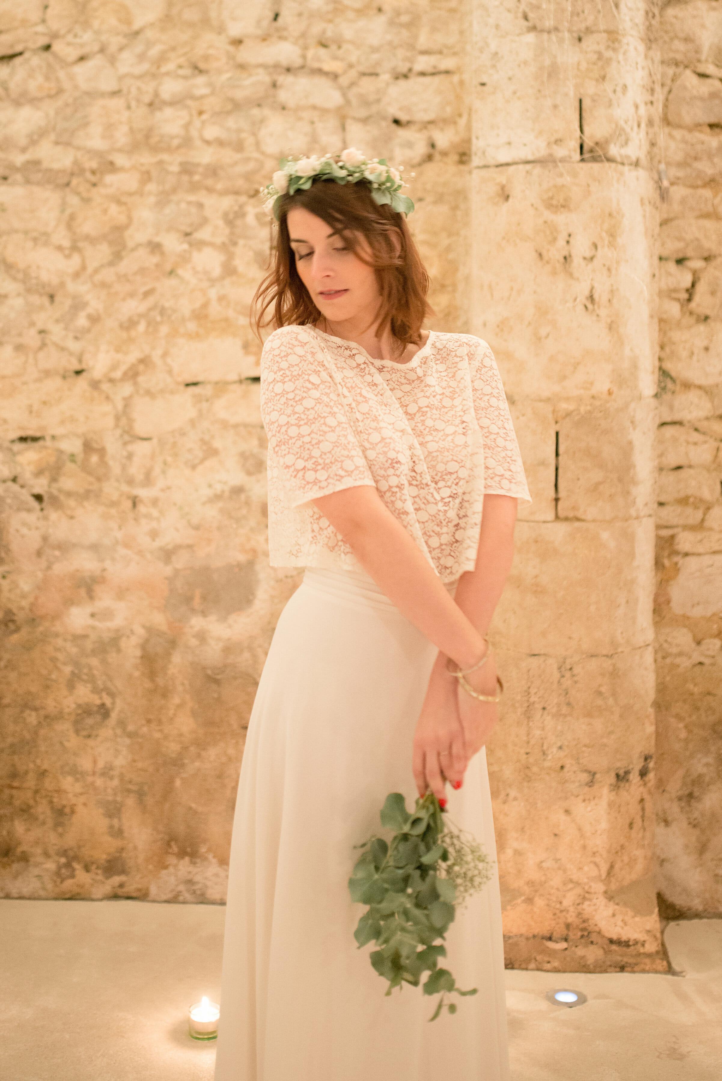 Créatrice de robes de mariée La Rochelle Provins 4