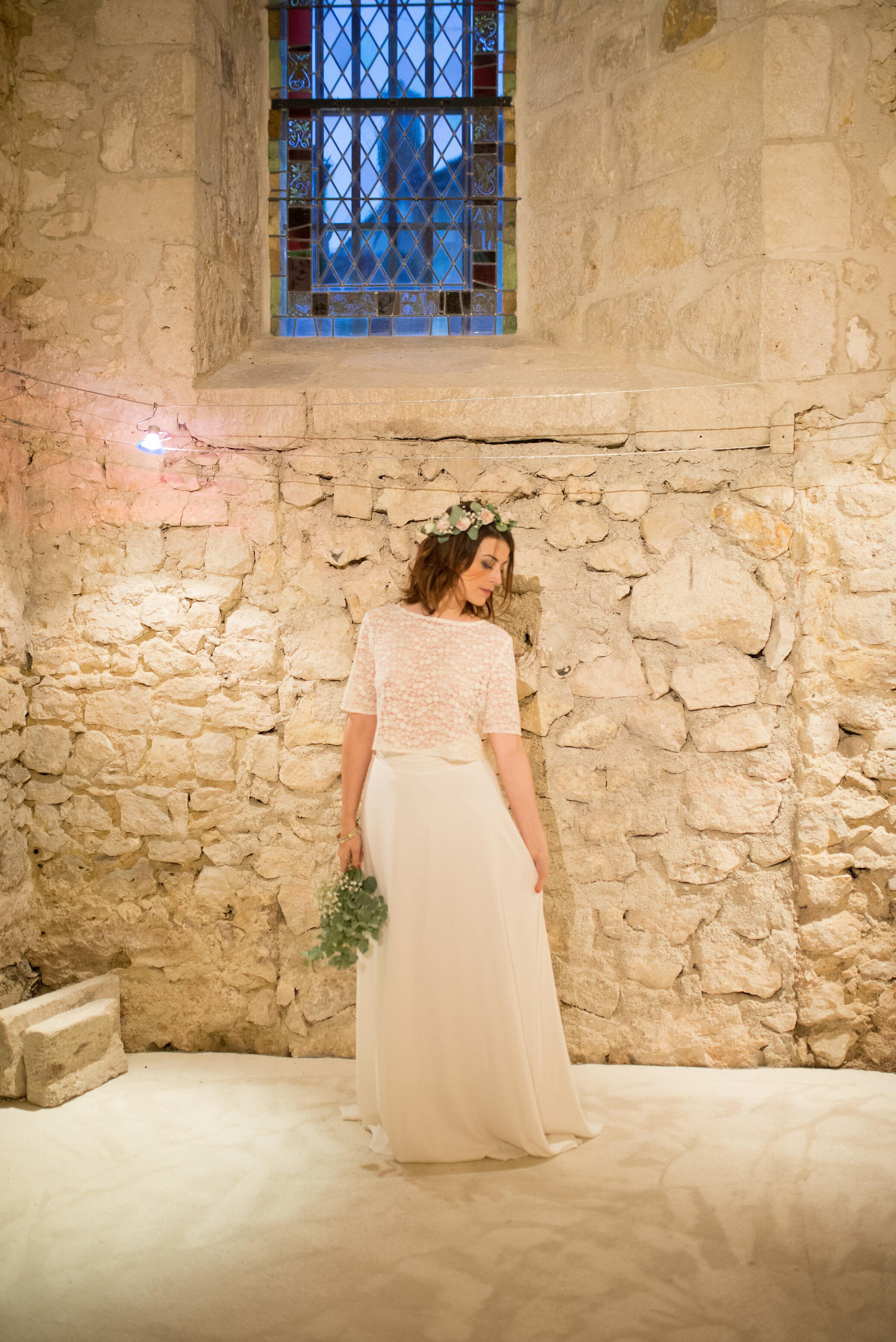 Créatrice de robes de mariée La Rochelle Provins 1